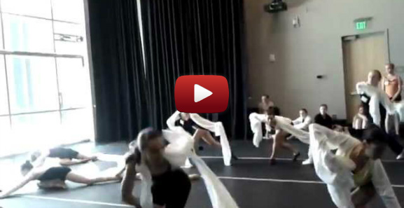 Joffrey West: Dance Students Learning Chinese Traditional Dance