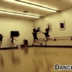 Teen Lyrical Students Having Fun With Jumps