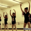 "Teen Ballet Students Working On Their ""Relevés"""