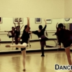 Teen Students Working On Their Lyrical Dance Moves