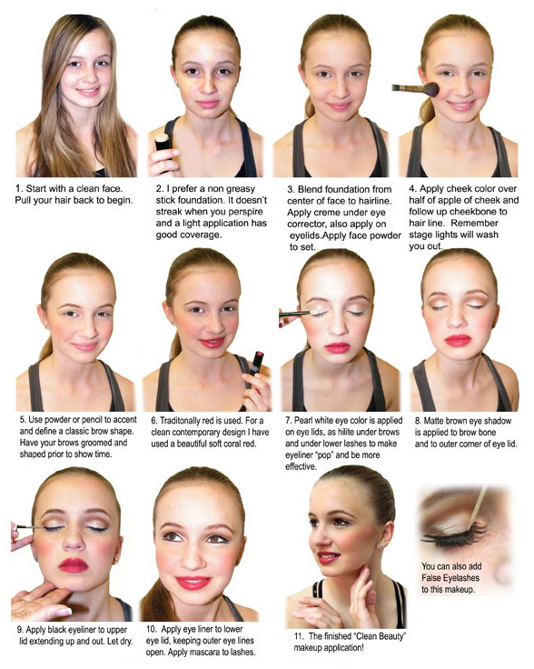 Dance Recital Makeup Tips